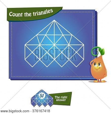 Count The Triangles 26 Brainteaser