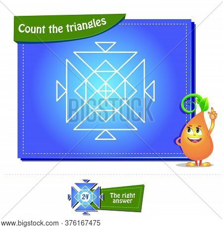 Count The Triangles 27 Brainteaser