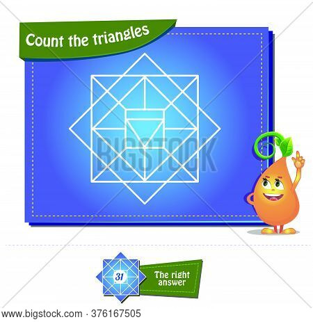 Count The Triangles 29 Brainteaser