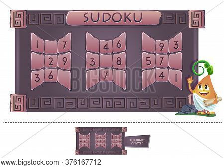Educational Game Sudoku Answer