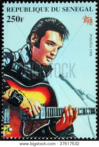 Presley - Senegal Stamp#6