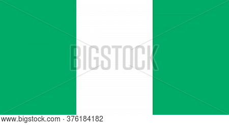 Nigeria National Flag Graphics Design. Business Concepts And Travel Backgrounds.