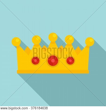 Excellence Crown Icon. Flat Illustration Of Excellence Crown Vector Icon For Web Design