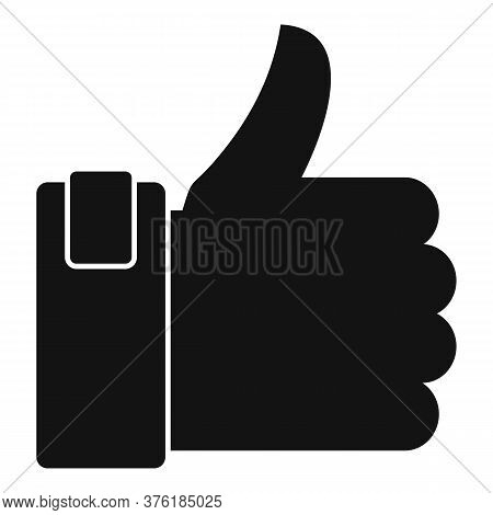 Excellence Thumb Up Icon. Simple Illustration Of Excellence Thumb Up Vector Icon For Web Design Isol