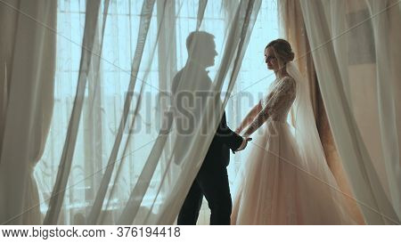 The Bride Meets Her Fiance And Leaves With Him.
