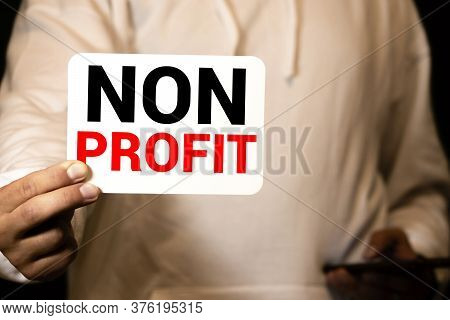 Non Profit Business Charity Donation Support Concept