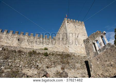 Castle In Leiria, Portugal