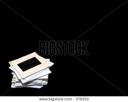 Slide Stack Title On Black