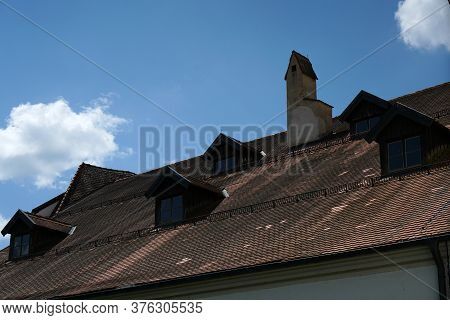 Dormers Here On Old Buildings Bring A Lot Of Light And Headroom Into The Attic