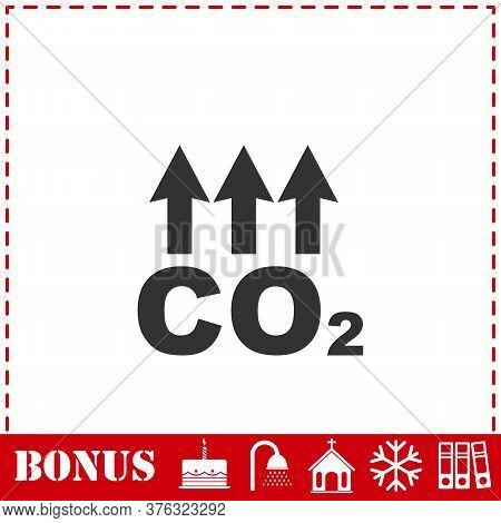 Evaporation Icon Flat. Simple Vector Symbol And Bonus Icon