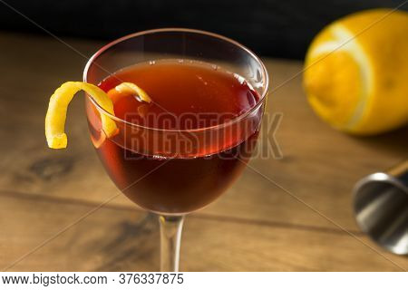 Homemade Classic Old Pal Cocktail