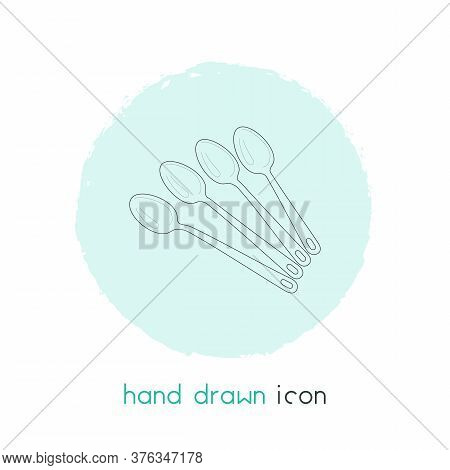 Tableware Icon Line Element. Vector Illustration Of Tableware Icon Line Isolated On Clean Background