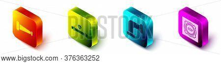 Set Isometric Industry Metallic Pipe, Industry Pipe And Manometer, Industry Metallic Pipe And Manhol