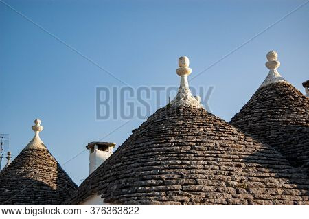 The Old Village Of Alberobello, Puglia Italy