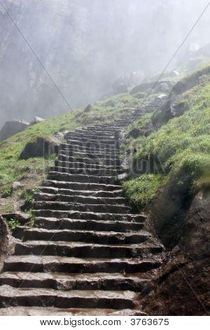 Misty Stairway