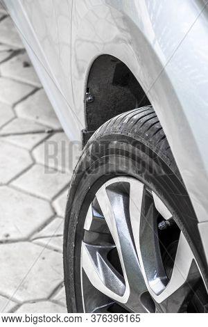 Wheel Tread Closeup