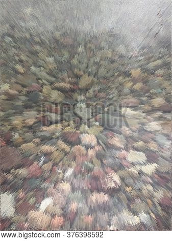 Fast Move Through Water Surface Image, Transparent Water, Multi-colored Pebbles, Pastel Color, Extru