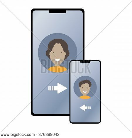 Mobile Communication, Interaction. Phone Numbers Of Mother And Child, Family Tariff, Parental Contro