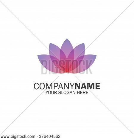 Lotus Icon Isolated On White Background. Lotus Icon Simple Sign. Lotus Icon Trendy And Modern Symbol