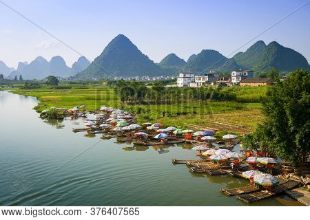 Yangshuo, China on the Li River.