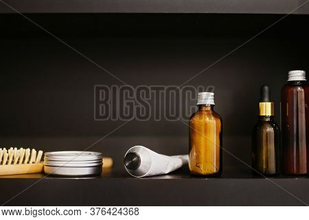 Wooden Hair Brush, Solid Shampoo In Metal Can, Deodorant In Tube, Conditioner, Ubtan For Skin, Tonic