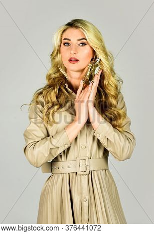 Elegant Smell. Female Fragrance And Perfumery, Cosmetics. Fashion And Beauty. Lady Prefer Expensive