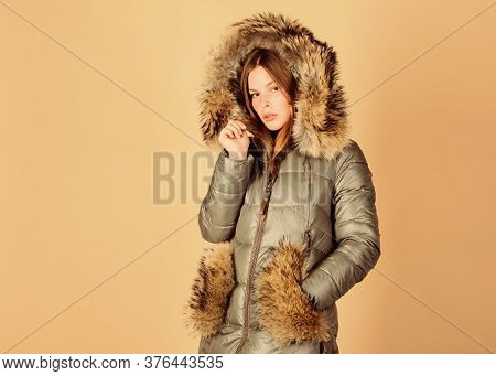 Shopping Concept. Black Friday. Personal Stylist Service. Buy Winter Clothes. Sale And Discount. Wom