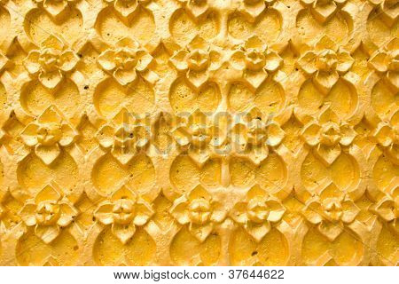 Stucco Floral Patterns.