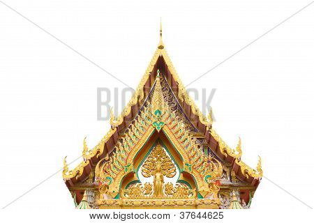 The Beauty Of Thai Temple Architecture.
