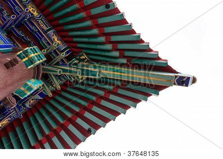 Building, Eaves, China, Ancient