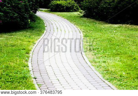 Path In A Garden, Path In The Park