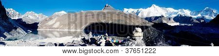 panoramatic view of Cho Oyu