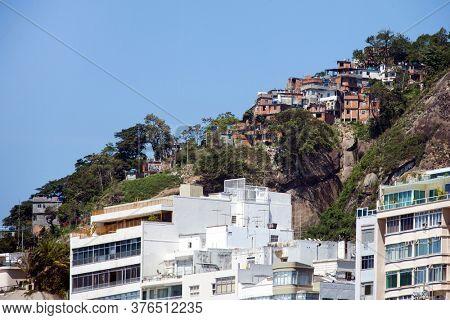 Favela in Rio de Janeiro, Copacabana