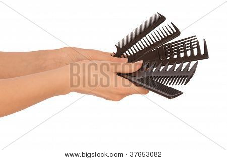 hairdresser's tools