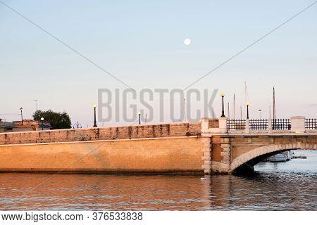 Taranto City. Italy In Morning Light, Puglia