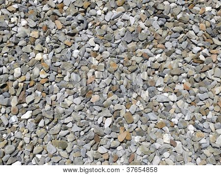 Grey and brown gravel background