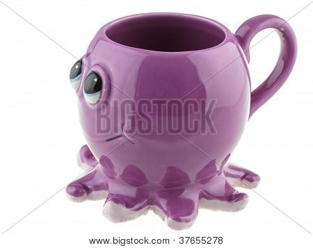 Cup In The Shape Of An Octopus