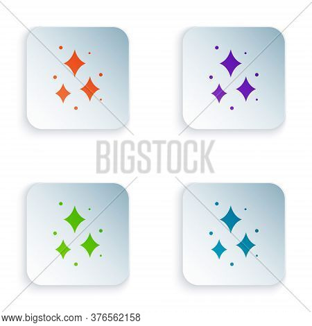Color Firework Icon Isolated On White Background. Concept Of Fun Party. Explosive Pyrotechnic Symbol