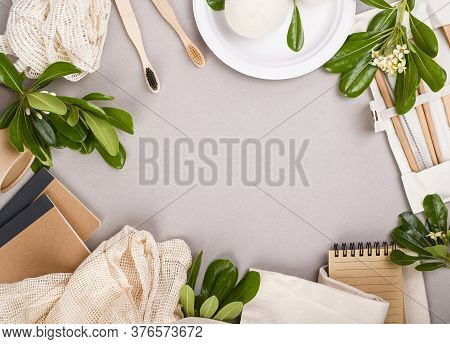 Household Goods To Be Processed. Textiles, Hygiene Products, Paper Utensils. The Concept Of Producti