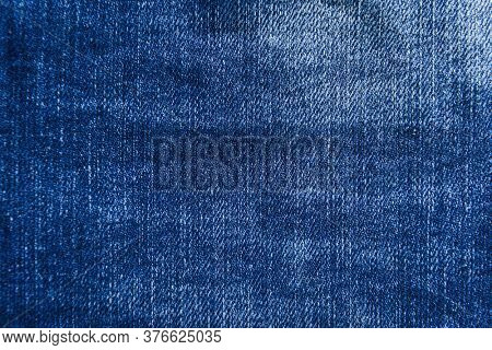 Blue jeans fabric. Denim jeans texture