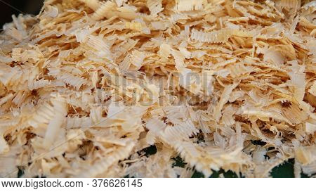 Sawdust Wood Dust Byproduct Or Waste Product Of Woodworking Operations Such As Sawing Milling Planin
