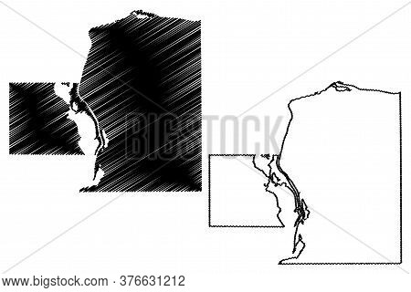 Putnam County, Illinois (u.s. County, United States Of America, Usa, U.s., Us) Map Vector Illustrati