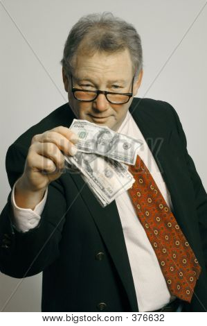Executive With Cash