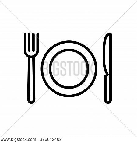 Illustration Vector Graphic Of Restaurant Icon Template