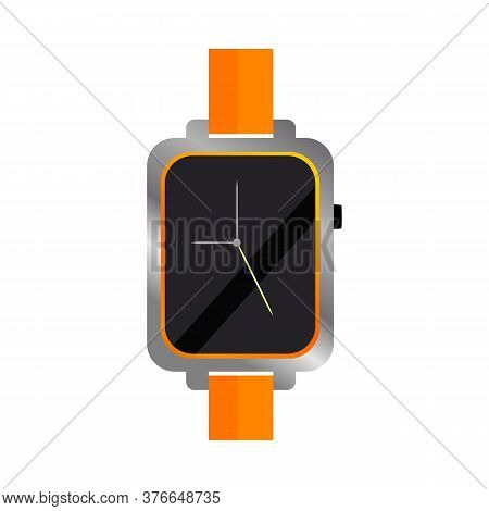 Elegant Wristwatch Illustration. Clock, Hand, Accessorise. Style And Fashion Concept. Illustration C