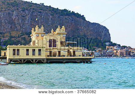 The Charleston restaurant of Mondello in Palermo,Sicily
