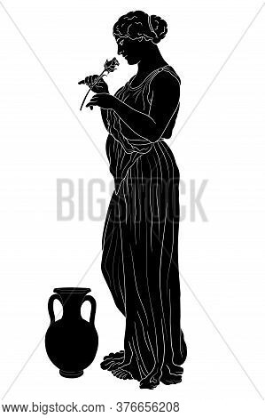 Vector Greek Women.