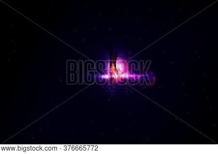 Beautiful Cosmic Nebula. Elements Of This Image Were Furnished By Nasa.