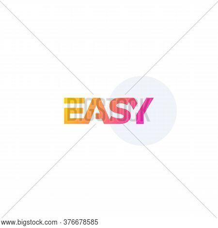 Easy Vector Logo Design, T-shirt Print, Eps 10 File, Easy To Edit