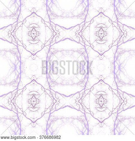 Delicate Floral Print. Santorini Pattern Original. Floral Organic Rug. Pink,white Seamless  Tile Jap